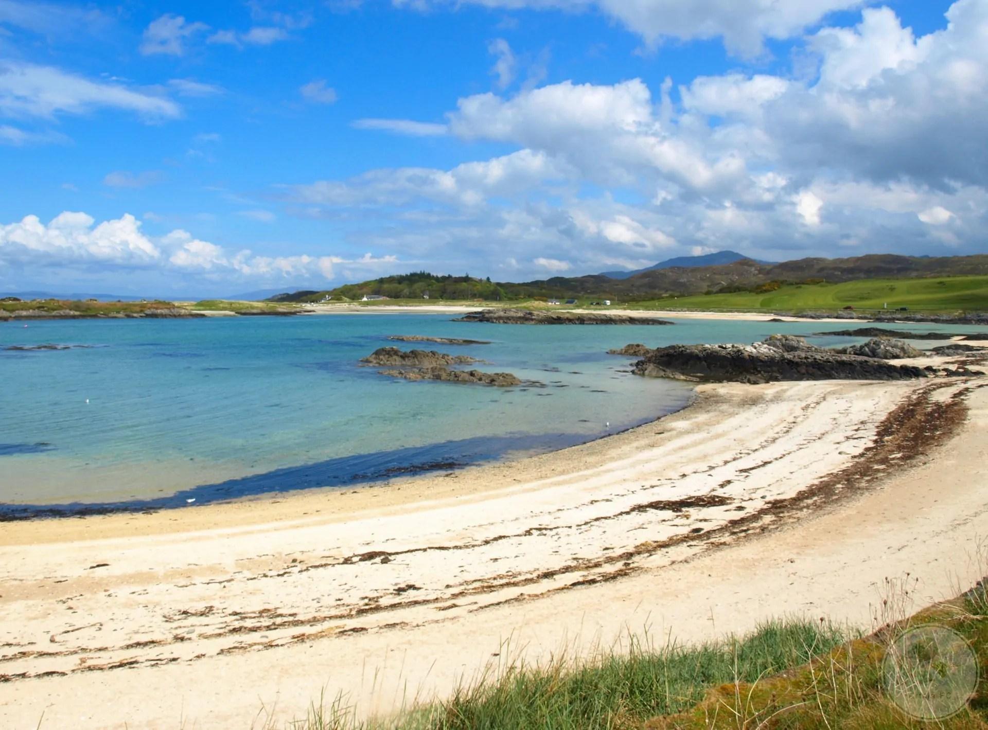 White Sands of Morar, Scotland