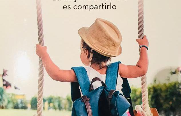 Portada del libro Va de vida. Lo mejor del camino es compartirlo, ganador del Premio Feel Good 2019