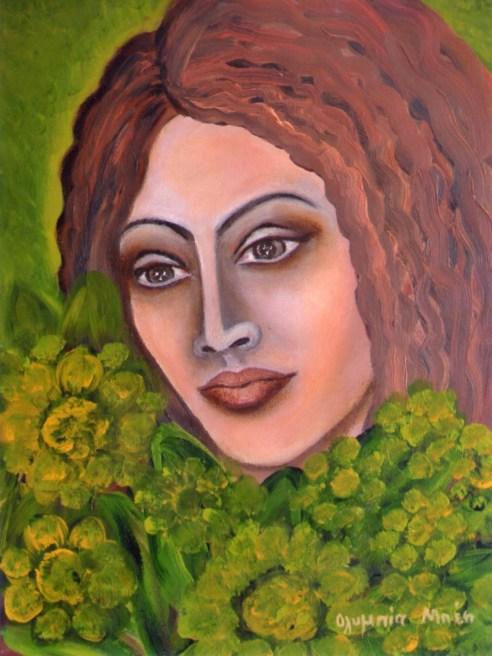 Dreamer (Acrylic on canvas, 40X30 cm)