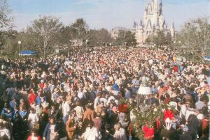 Disney World Crowd, Nightmare at Disney World