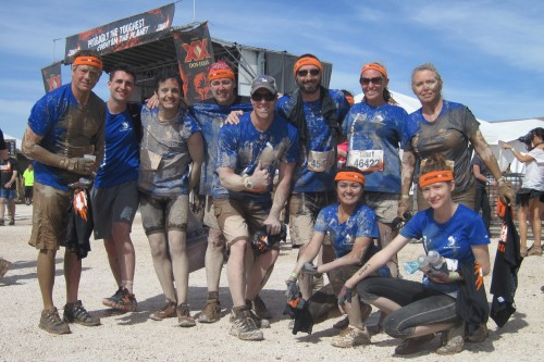 Las Vegas, Tough Mudder, Team Muddy Mudskippers,