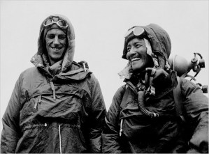 Sir Edmund Hillary and Tenzing Norgay, Everest, Because it's there