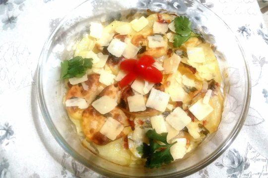 Sformatino di patate con Parmigiano Reggiano