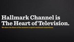 Hallmark Channel brand identity by Loyal Kaspar