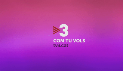 TV3 Catalonia, Spain. Recent rebranding done by Red Bee Media, which is a part of Ericsson.