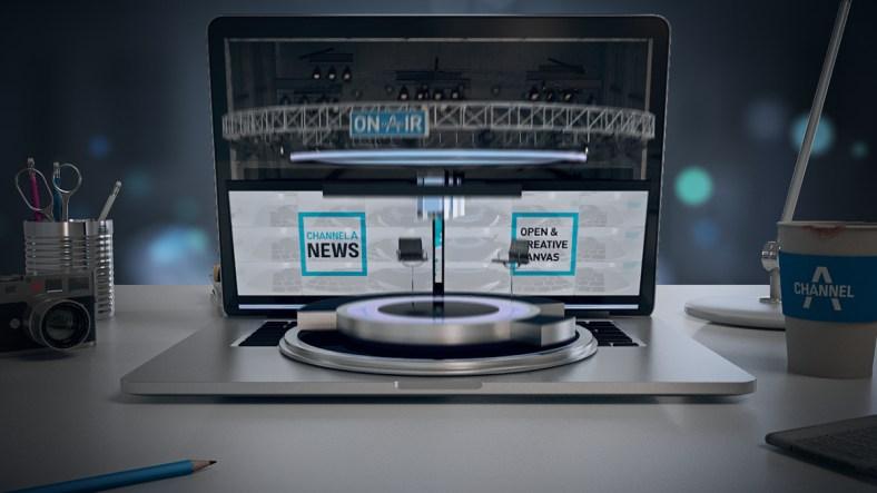 news channel branding