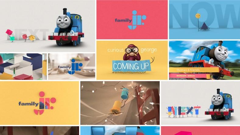 FamilyJr channel branding by Rogers, Los Angeles, CA