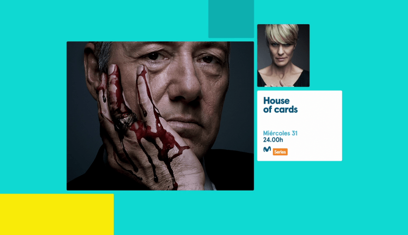 House of Cards on Moviestar+