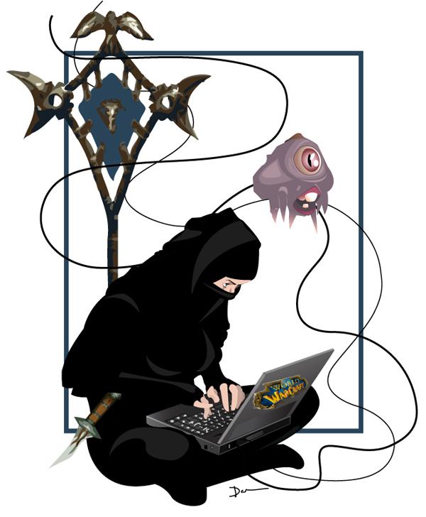 Dawn's a Warcraft Ninja