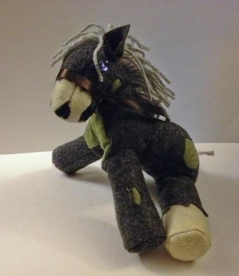 Zombie Horse Plushie Version 1