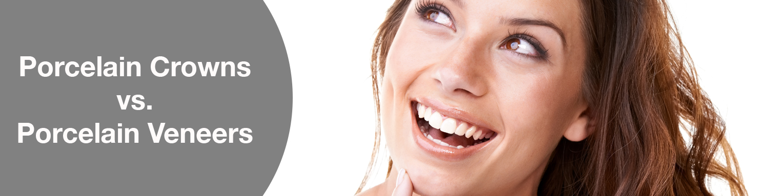 Toronto Dentist explains difference between porcelain crowns and veneers