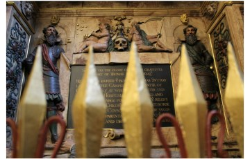 Saints and sepulchres at the Charterhouse
