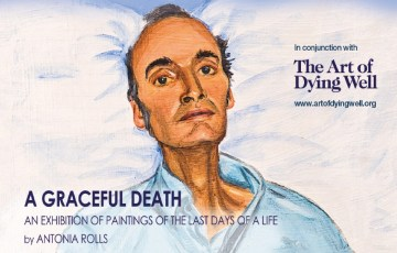 A graceful death, portraits of the dying