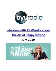 The Lisa Show_BYU Radio Interview_The Art of Happy Moving