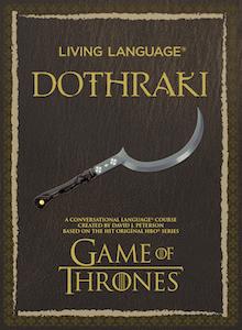 Cover of Living Language Dothraki
