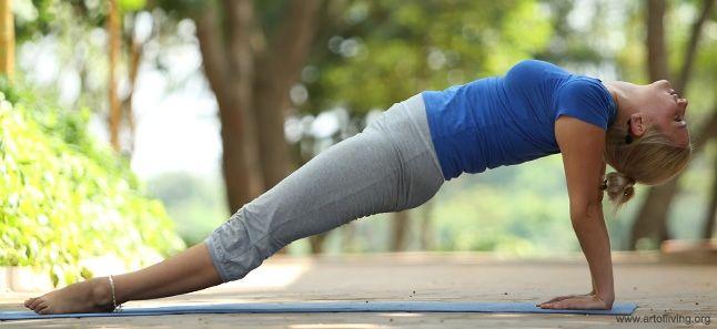 Upward Plank Pose | Poorvottanasana | Yoga Benefits | Steps | Sequence | The Art Of Living Libya