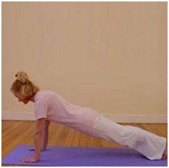 Surya Namaskar Yoga Pose 5