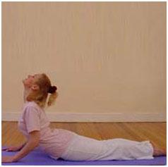 San Salutation yoga pose 7