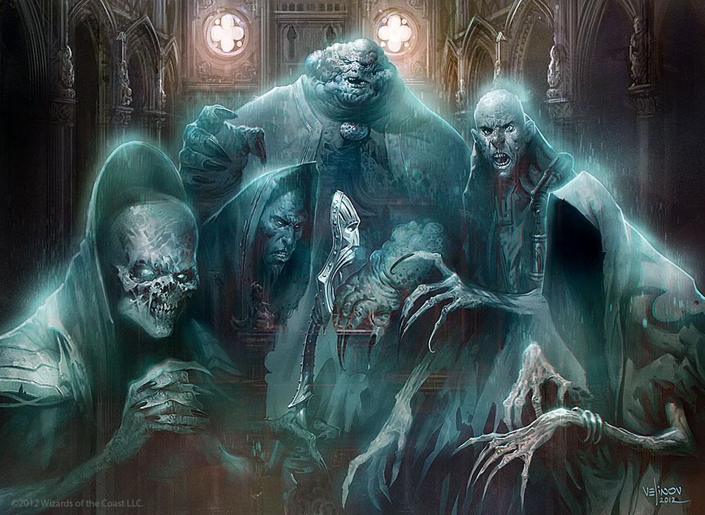 Obzedat, Ghost Council Art