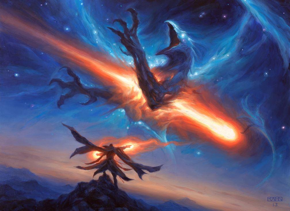 Starfall - MtG Art