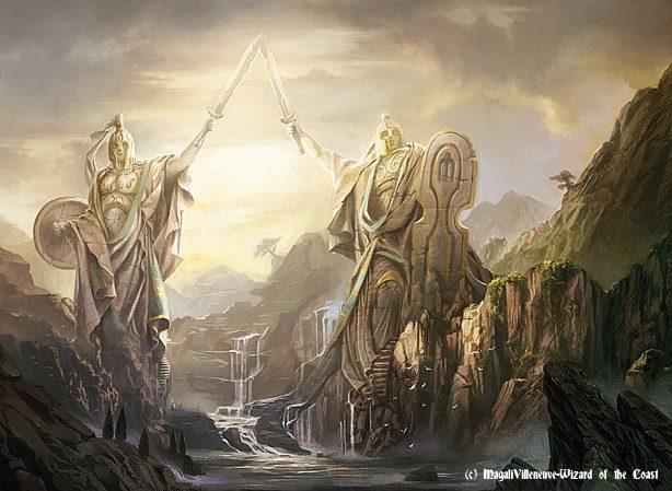 Guardians of Meletis - MtG Art