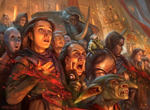 Captive Audience - Ravnica Allegiance Art