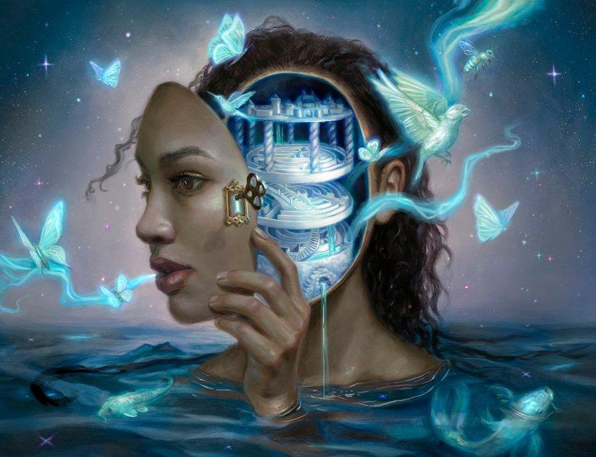 Sublime Epiphany - Core Set 2021 MtG Art