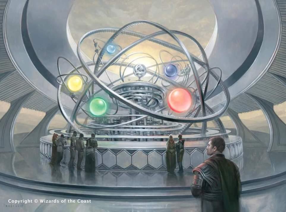 Chromatic Orrery - Core Set 2021 MtG Art