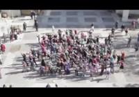 Flash-mob protests segregation of women in Israel – Jan 2012
