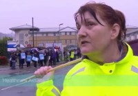 NHS workers explain why they're on strike (Oct 2014)