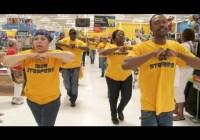 Walmart Workers Flash Mob | Raleigh, NC. Sept 2013