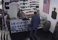 """States United To Prevent Gun Violence opens a """"gun store"""" in NYC (March 2015)"""