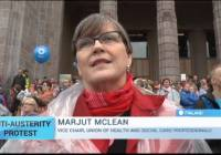 Finland Anti-Austerity Protest: Rally in Helsinki draws 30,000 to street (Sept 2015)