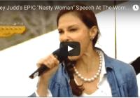 "Ashley Judd reciting Nina Donovan's ""I Am A Nasty Woman"" poem (Jan 2017)"