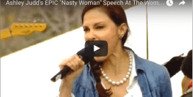 "Ashley Judd reciting Nina Donovan's ""I Am A Nasty Woman"" poem (Jan 2017)"