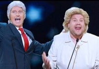 (Trump's an) ***hole James Corden and Denis Leary (2016)