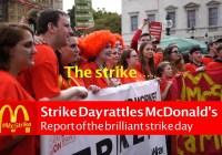 McDonald's Strike Day in full #McStrike (September 2017)