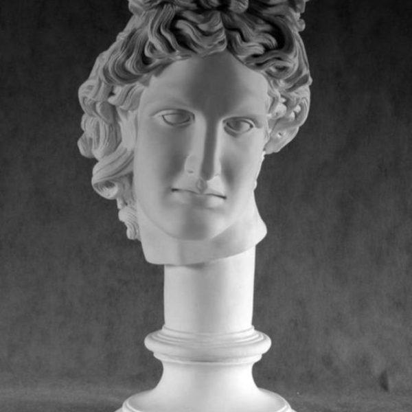 Гипсовая голова Аполлон (стилизованный)