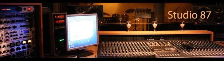 Muziekstudio studio87