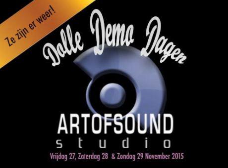 Demo opnemen bij de Dolle Demo Dagen
