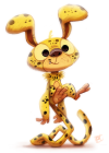 Piper-Thibodeau-Daily-Paint-687-Marsupilami