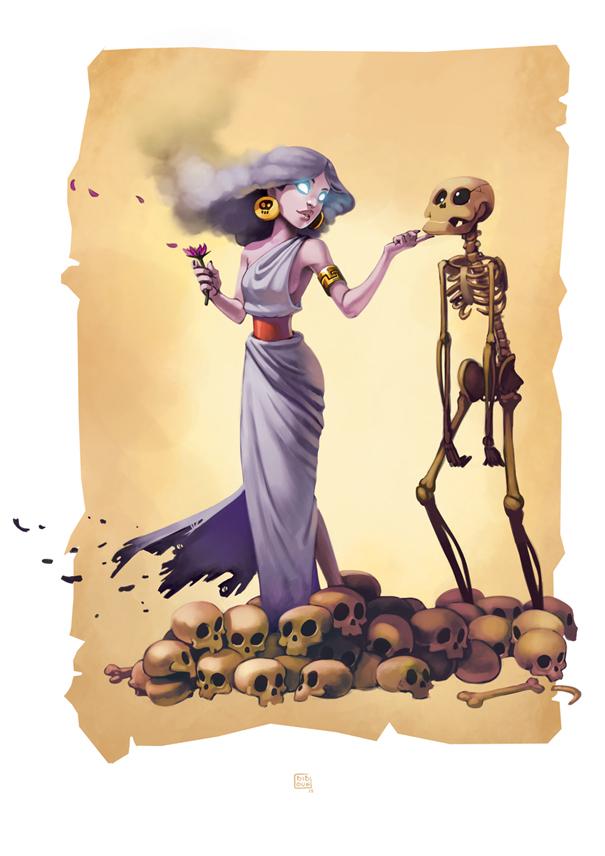 Chronos Conquest - Perséphone par Biboun