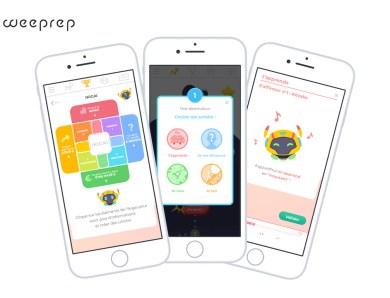 Weeprep: Nouveau projet sur mon portfolio