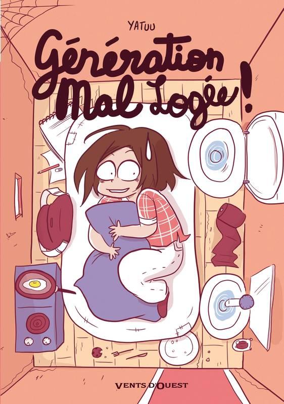 Illustration de couverture de la bande dessinée de Yatuu sur le mal logement