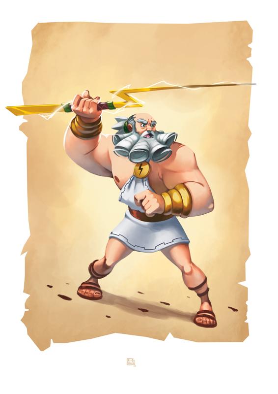 Chronos Conquest - Zeus par Biboun