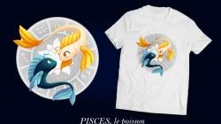 Signes du zodiaque, le poisson Pisces
