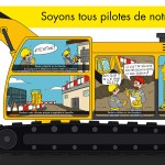 Affiches prévention pour la sécurité des chantiers GCC