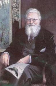 Alfred Russell Wallace, the co-discoverer of the theory of evolution by natural selection