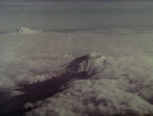 Mount St. Helens on February 8, 1984, the day before I met my wife