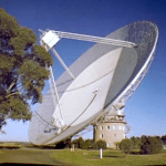 The Dish: The radio telescope at the Parkes Observatory, Australia